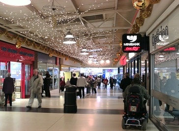 North Point Shopping Centre in Hull