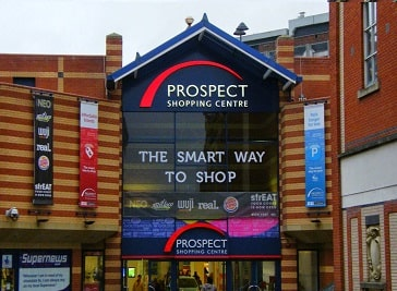 Prospect Shopping Centre in Hull